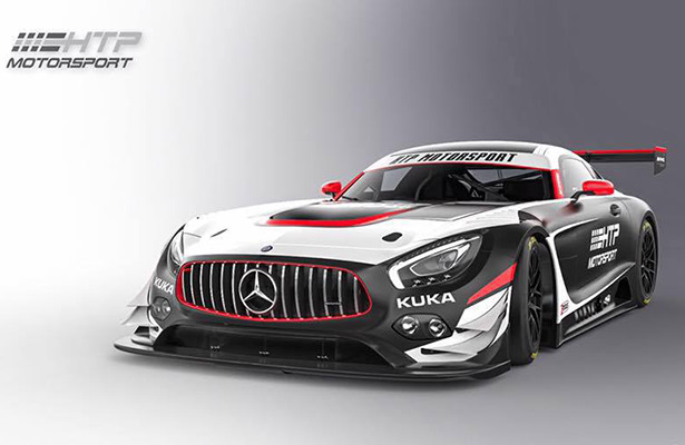 AMG Team HTP Motorsport и RAVENOL