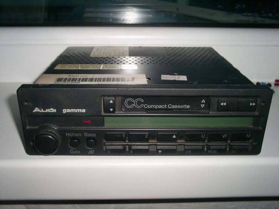 аудёвой кассетной gamma