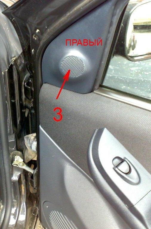 как установить пищалки в двери фиат албеа
