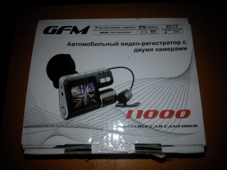 Зеркало с видеорегистратором cyclon mr-107 and