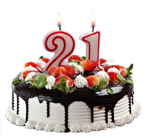 картинки с днём рождения девушке 21 год