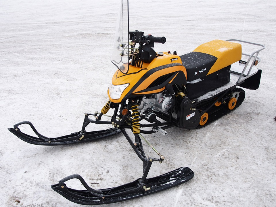 Снегоход динго 125 ремонт своими руками