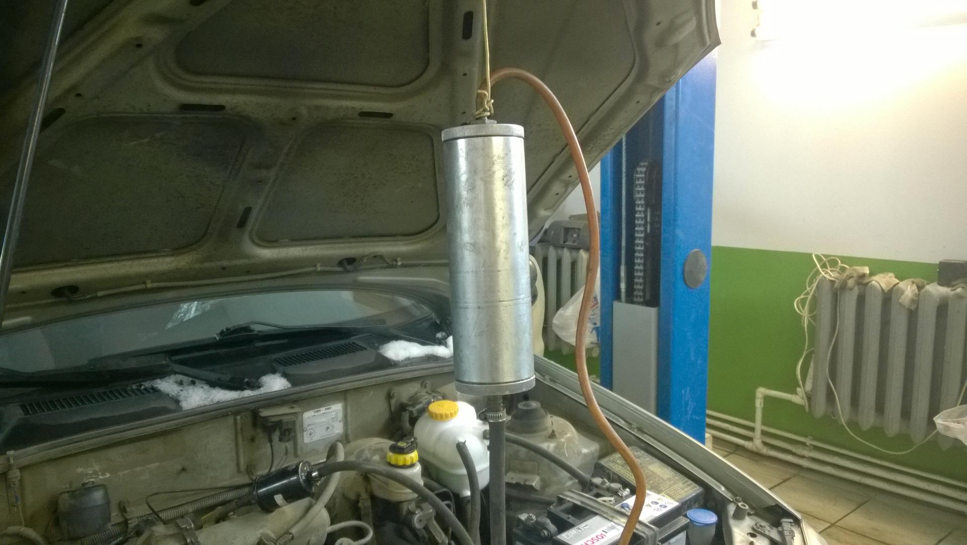 Промывка инжектора шевроле своими руками 83