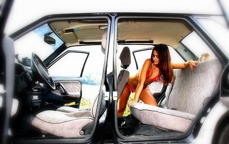 Лучшие позы в машине фото