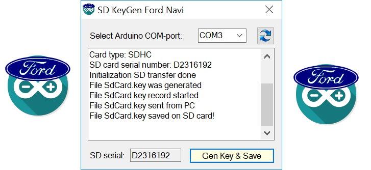 Tech] Key generator for navigation Ford Sync 2 — DRIVE2