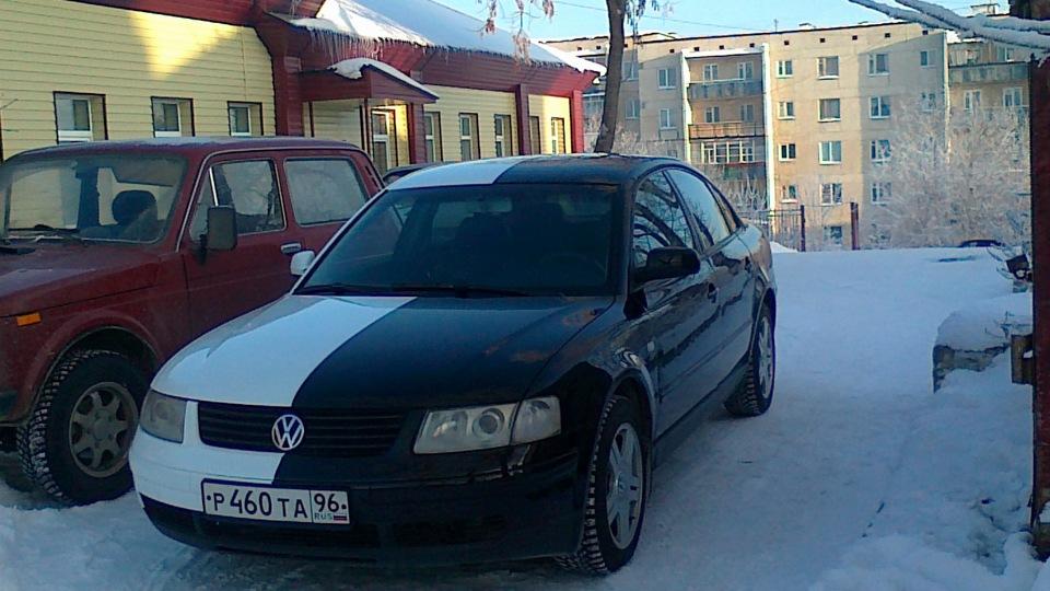 Черно белое  с машиной