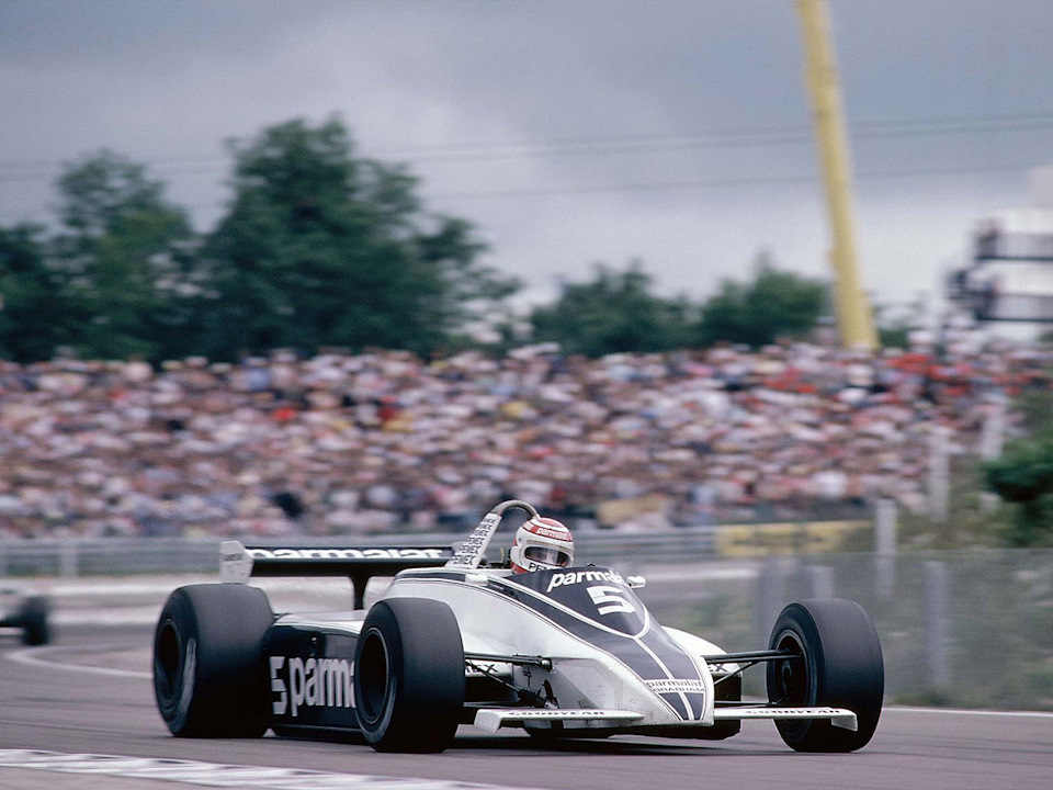 Сезон 1982 года Brabham начинал с атмосферниками Ford, а заканчивал с турбомоторами BMW