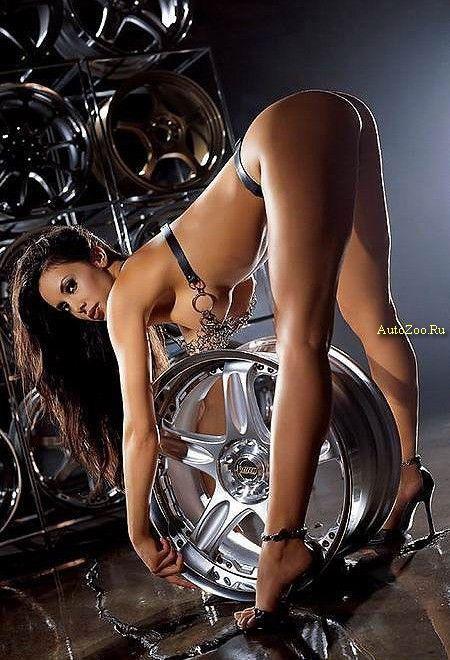 фото еротика и шины