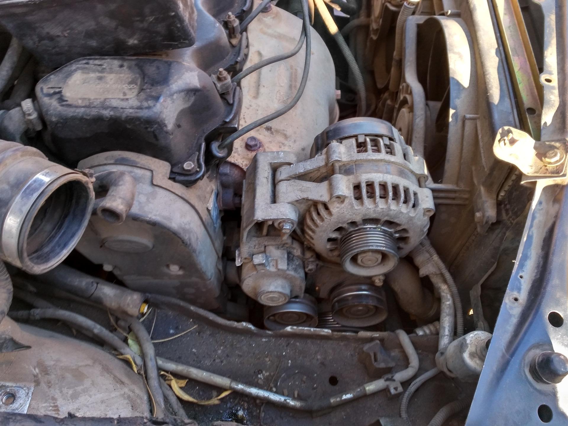 Как заменить генератор на чери амулет запчасти на чери амулет балашиха