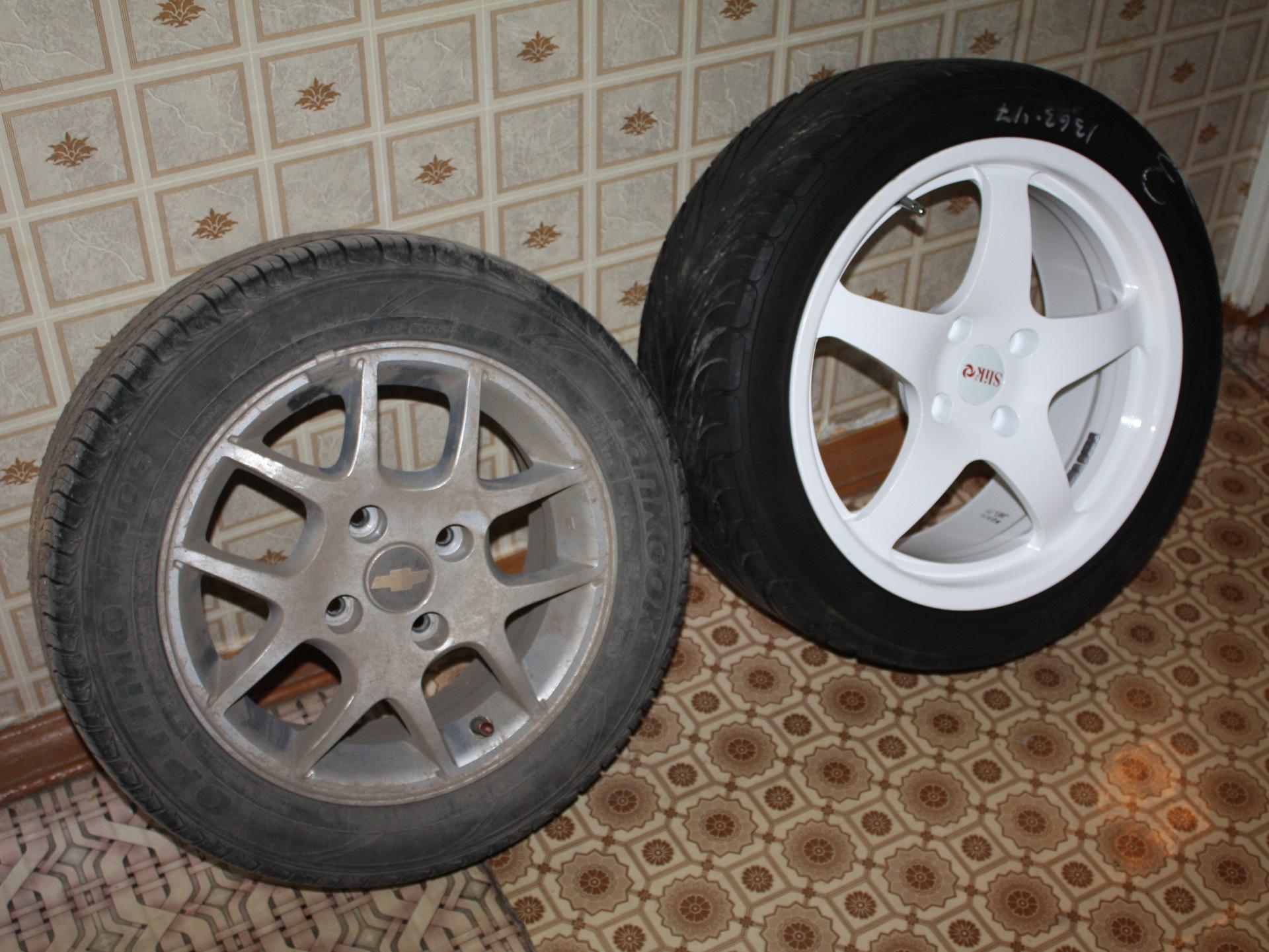 chevrolet lacetti колеса размер