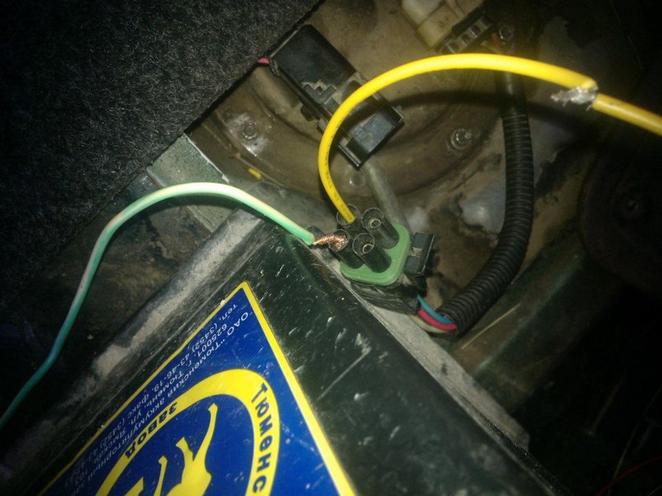 Фото №18 - почему не работает бензонасос на ВАЗ 2110