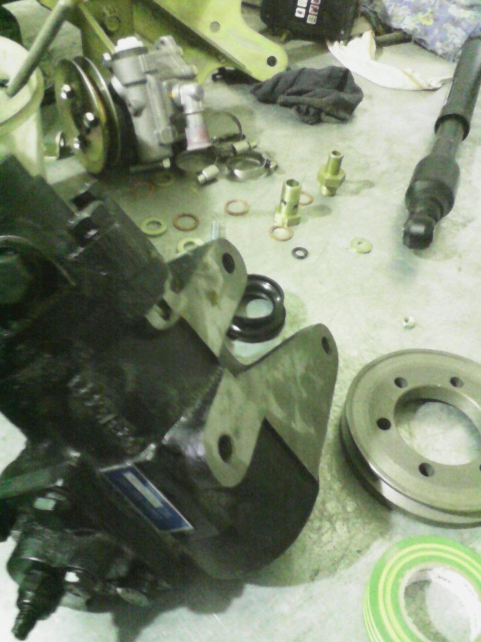 инструкция по установке рулевого демпфера на уаз 469