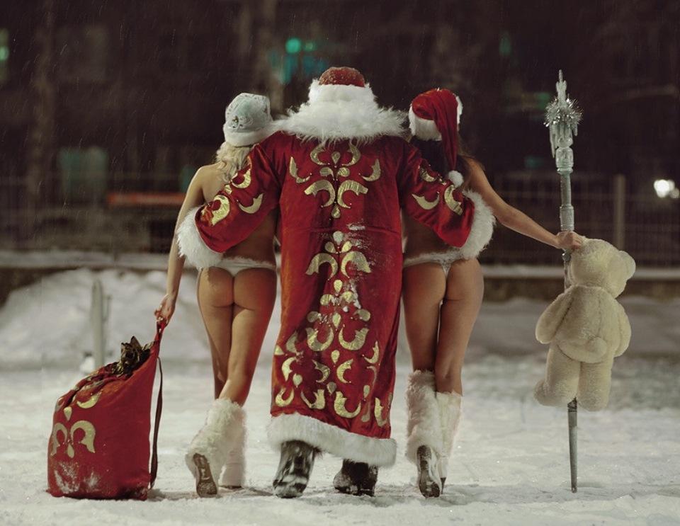 Новогодние снегурочки картинки прикольные