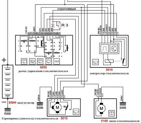 Модификация реле дворников.