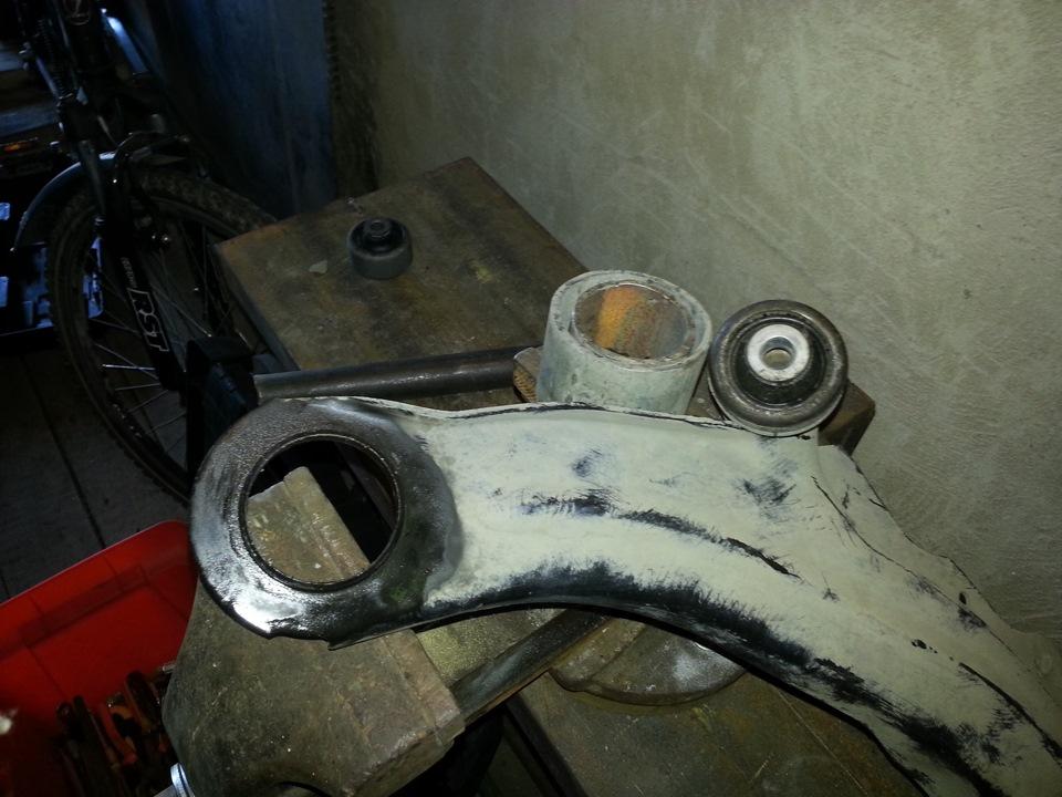 Замена сайлентблоков рычагов рено меган 2