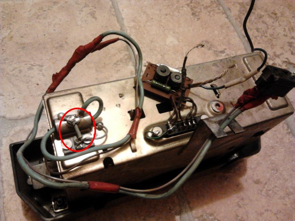 сломанный Конденсатор М750 56