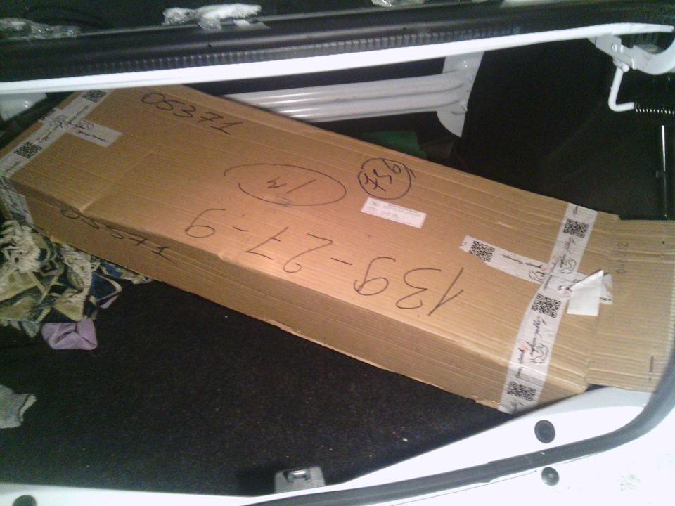 Обшивка багажника Логан своими руками