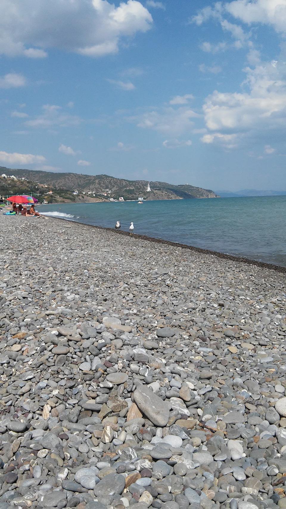 Пляж солнечногорское крым фото