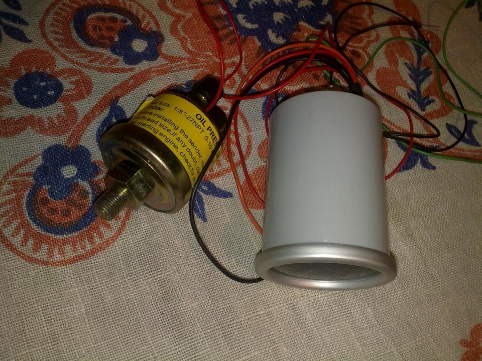 Подключение датчика давления