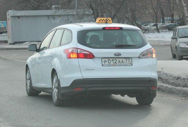фото такси ford focus