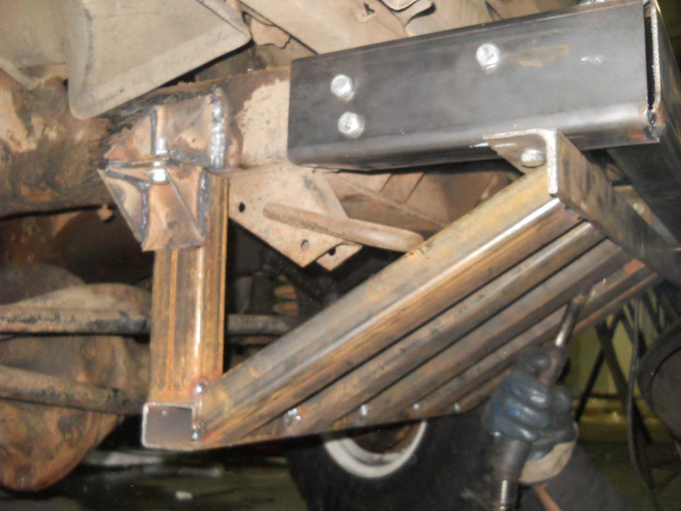 Защита рулевой тяги уаз 469 своими руками