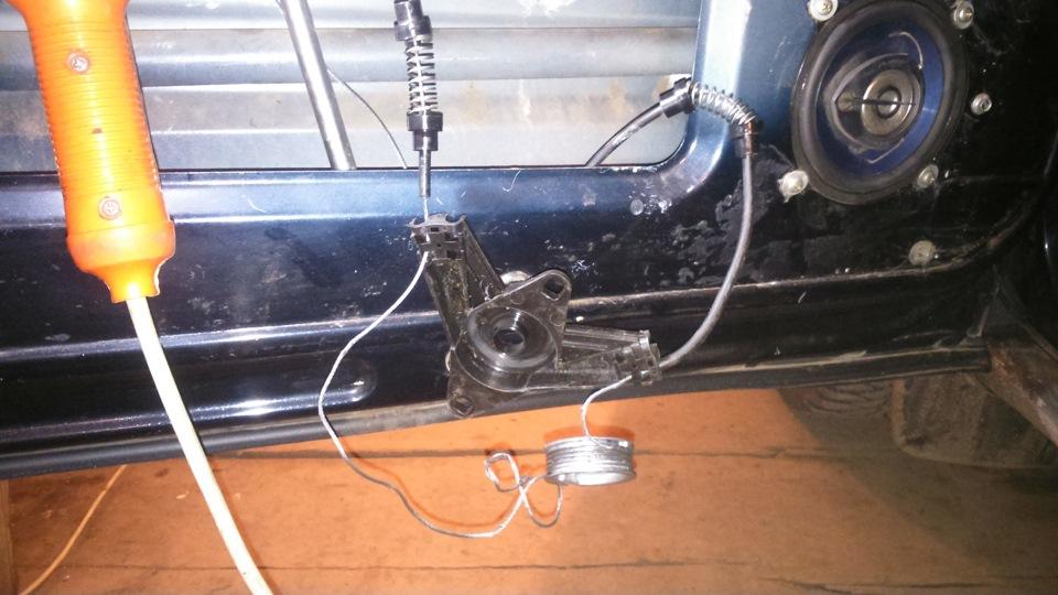 chevrolet niva ремонт стеклоподъемников