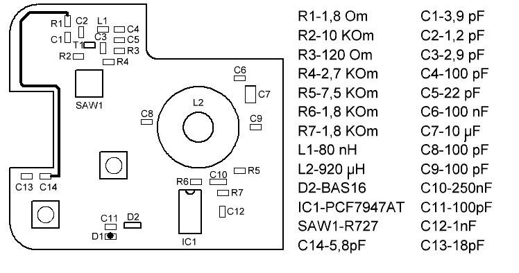 Схема антенны для авто фото 500