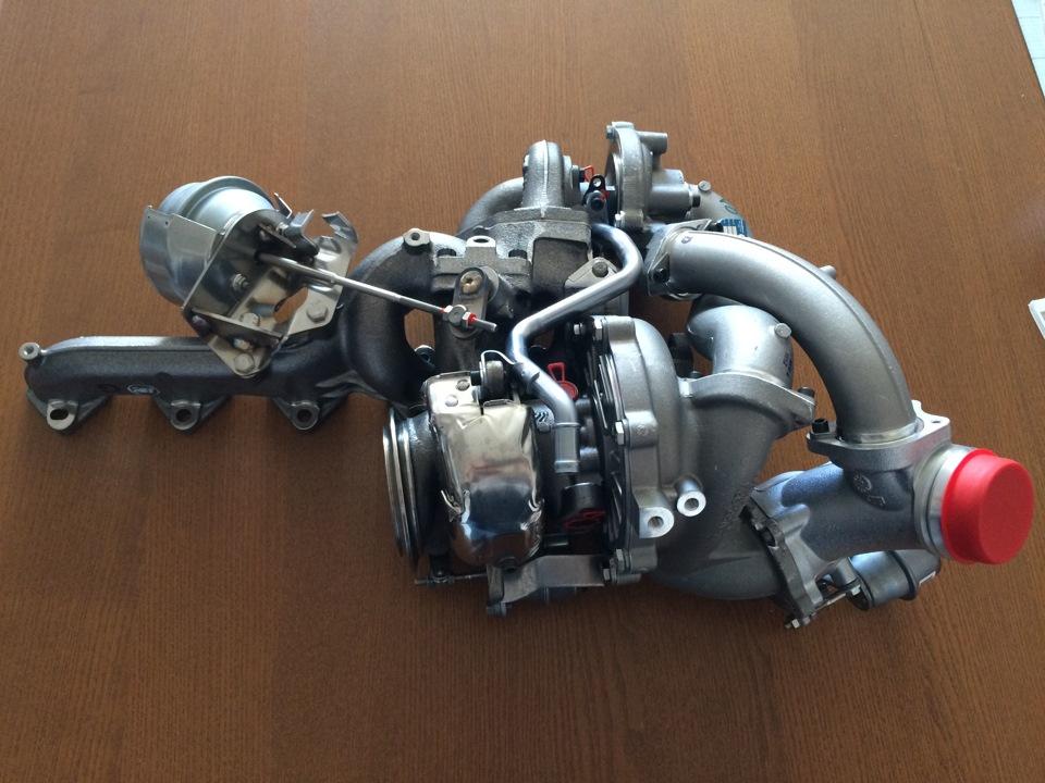Замена турбин на ауди а6 с5 2.7 битурбо