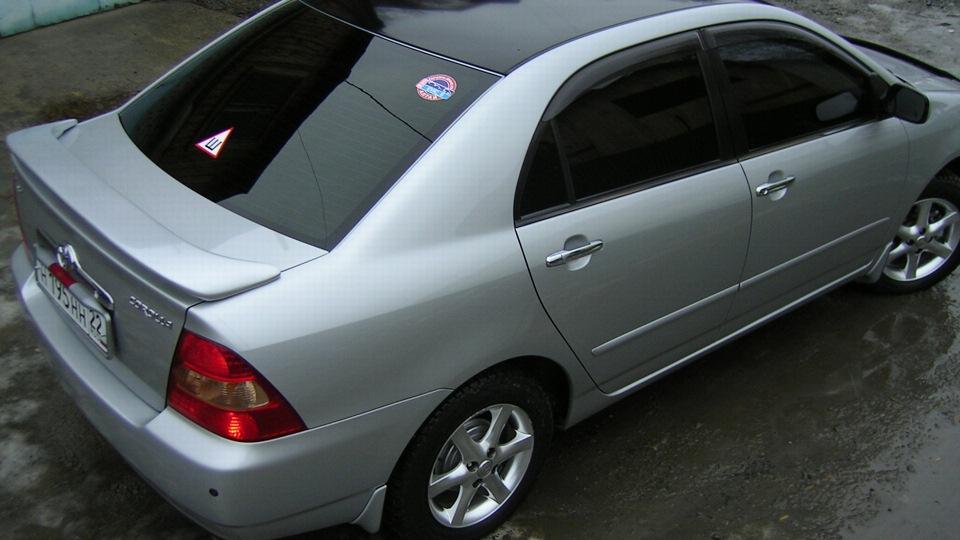 тойота королла 2001