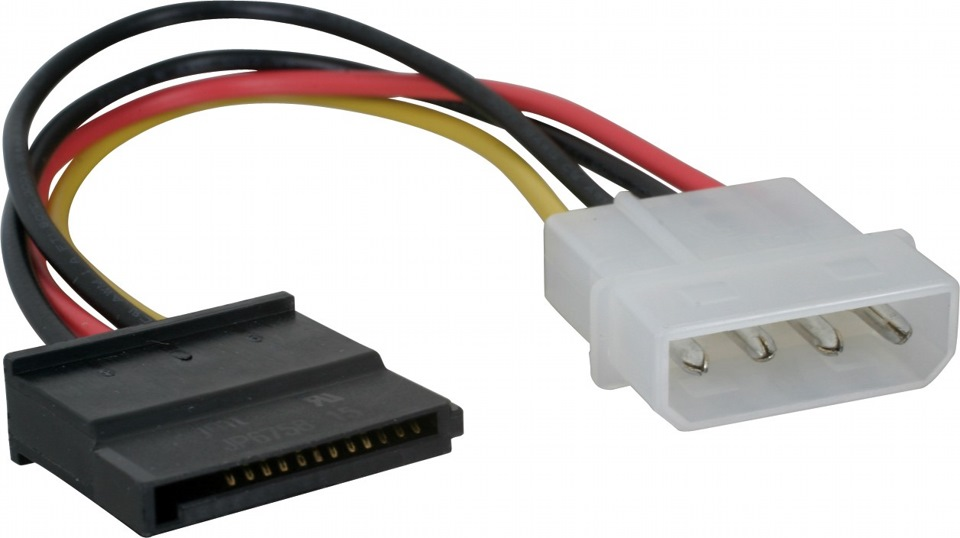 Serial ATA Power converter cable (переходник питания на Serial ATA) .