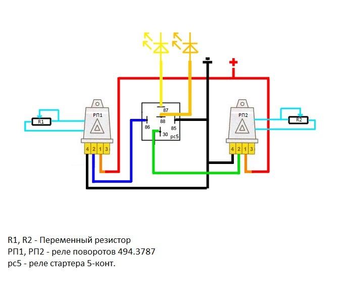 Переменные резисторы позволяют