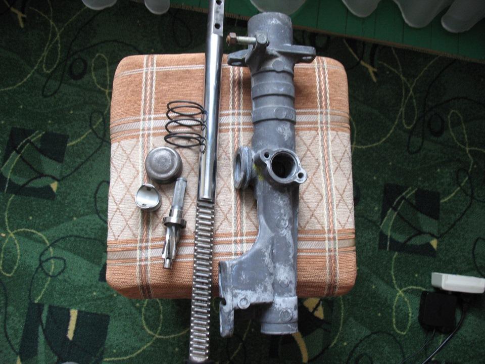 ремонт рулевой рейки audi 80 фото