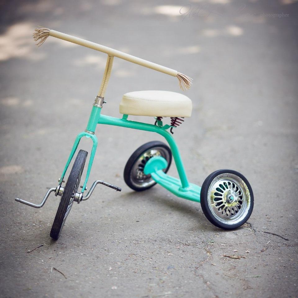 Как сделать трёхколёсный велосипед детский 749