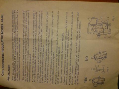 Как отрегулировать метановый редуктор