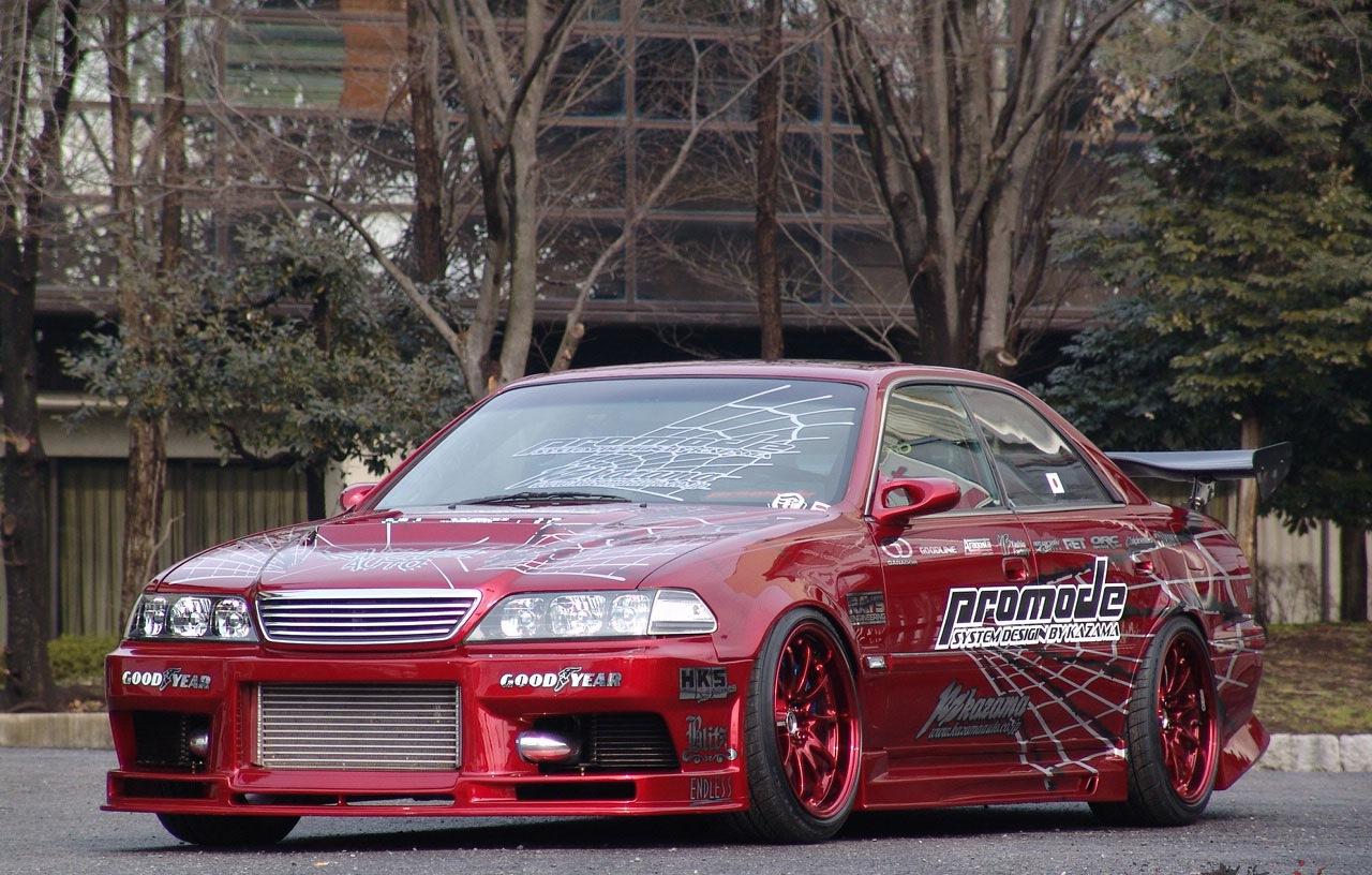 Toyota Марк 2 100 тюнинг фото #10