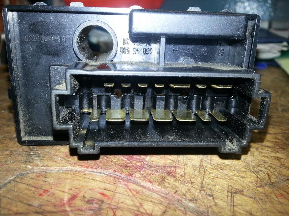 переключатель света фар на фольксваген транспортер