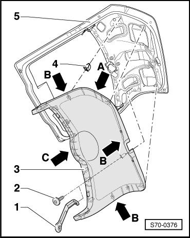 снятие обшивки багажника skoda roomster