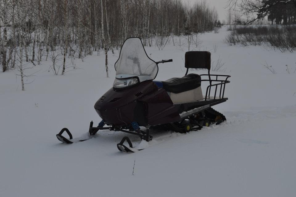 Рама для снегохода своими руками