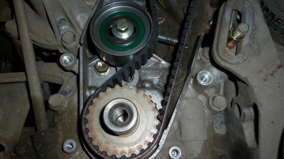 таета карина двигатель 5а метки для грм