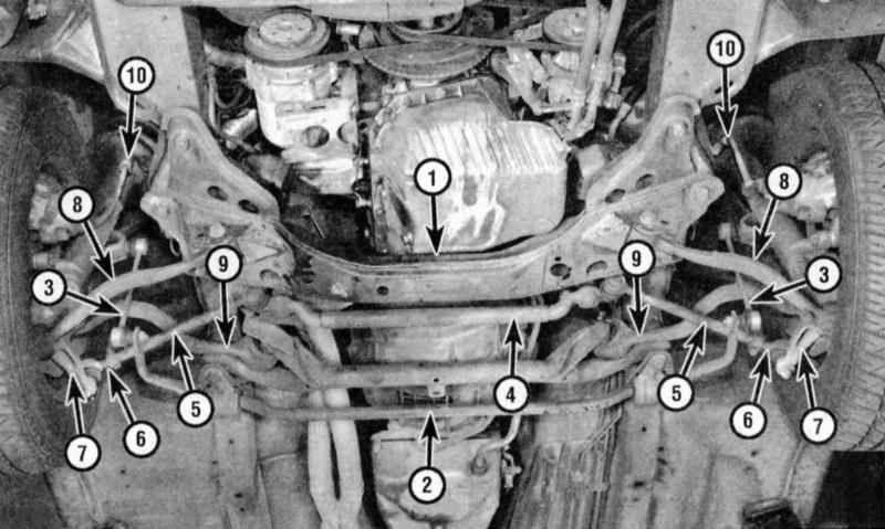 реставрация рычага bmw e34 с поджимом