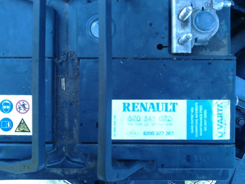 разряжается аккумулятор на renault megane