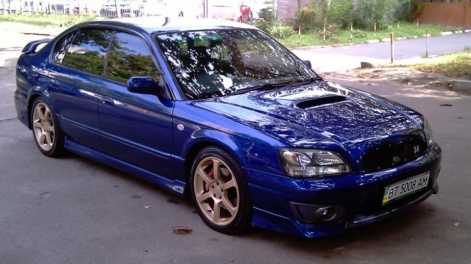 Subaru B4 Tommykaira Drive2
