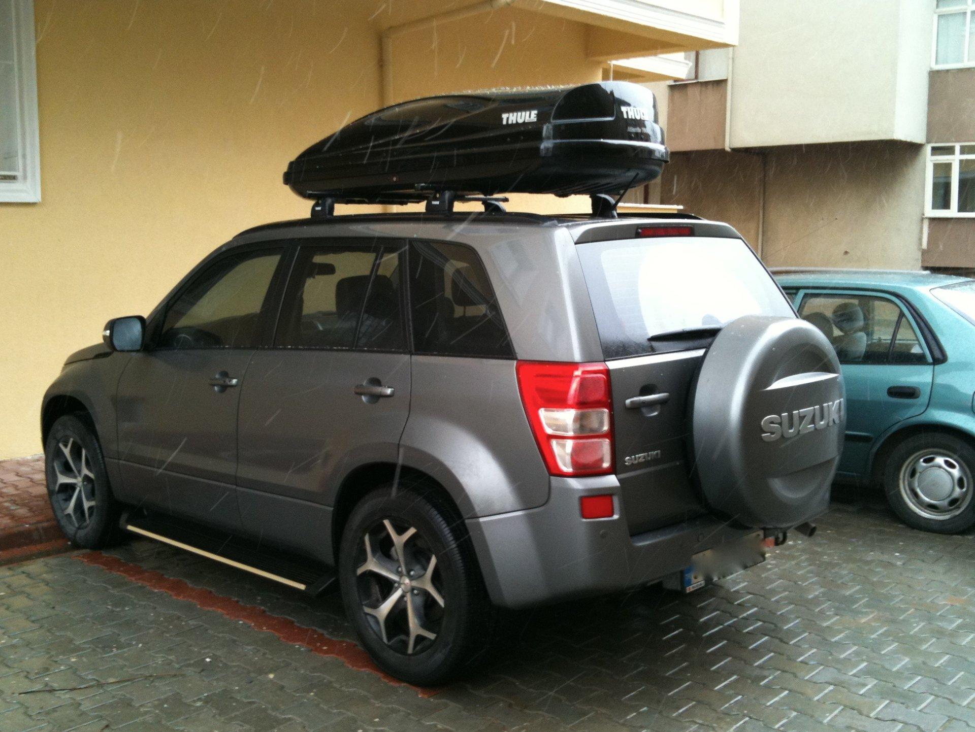 Багажник на крышу Suzuki Grand Vitara (Сузуки Гранд