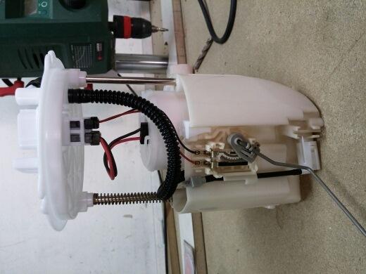Замена топливного фильтра мазда 6