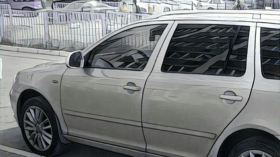 Skoda Octavia Combi Brilliant Silver Lk Drive2