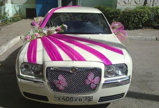 Фото как украсить машину на свадьбу своими руками