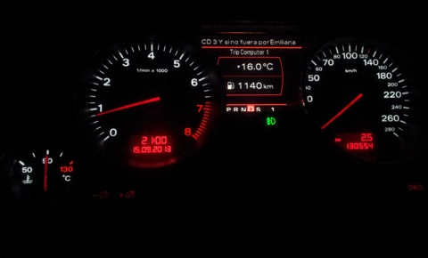 бортжурнал Audi A8 Interkontinentale Bpk
