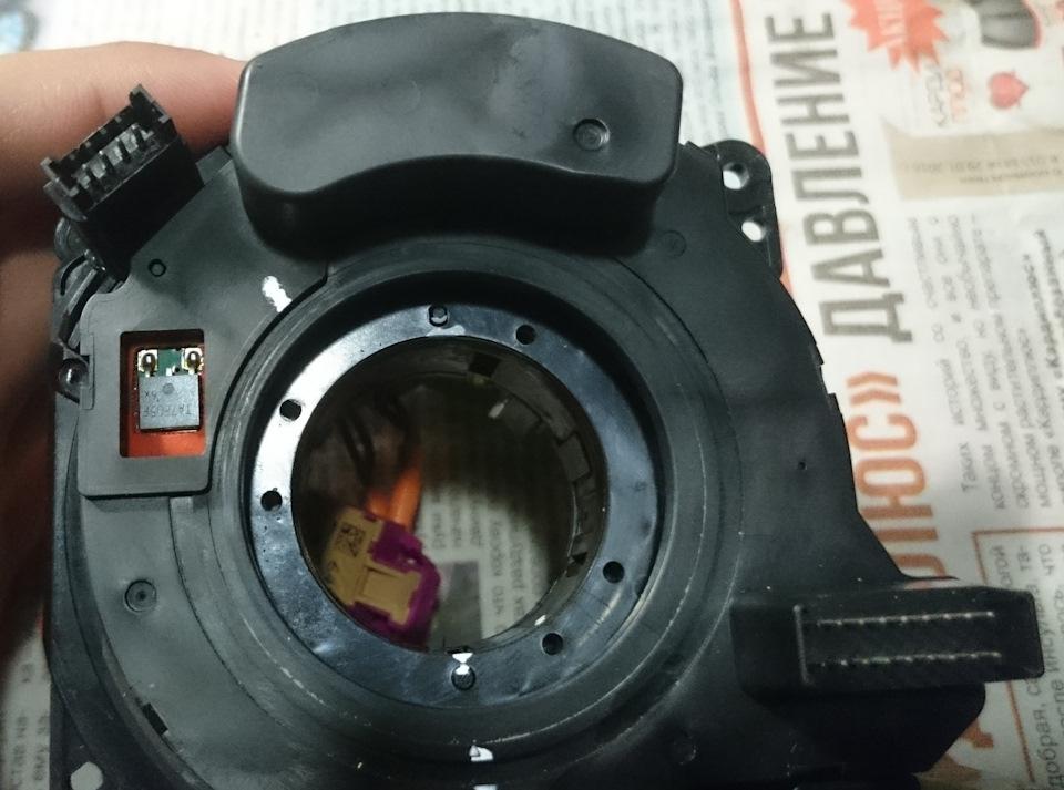 Ремонт датчика sas volvo xc90