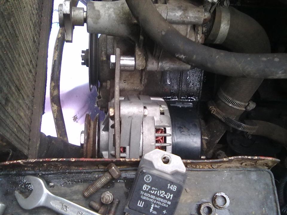 генератор на машине