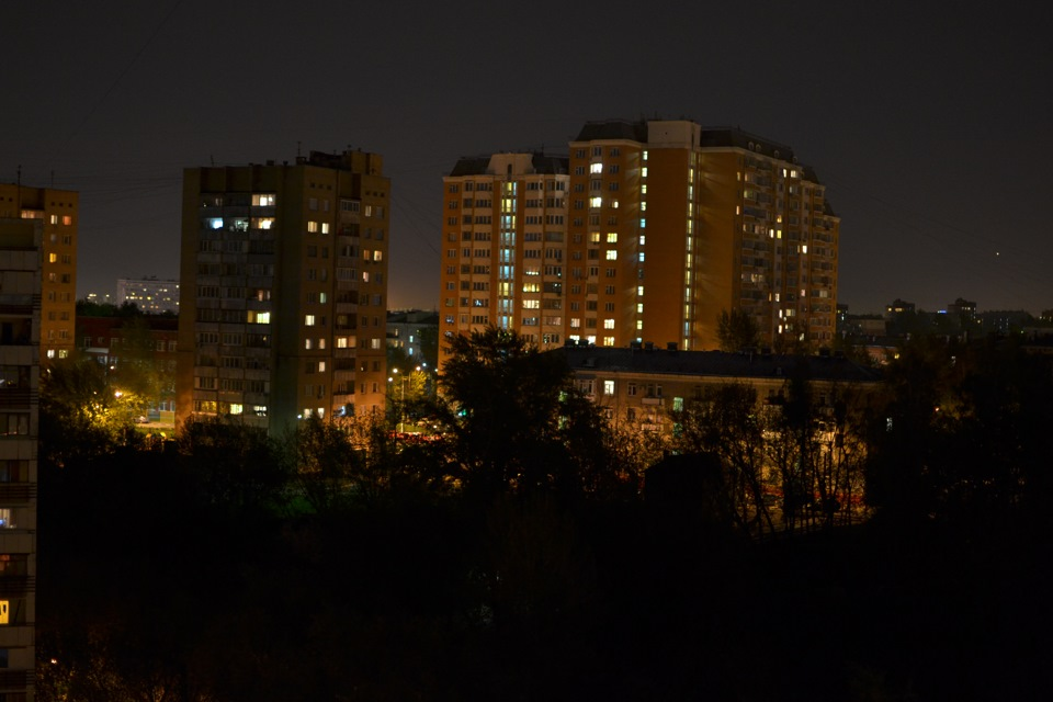 Туман ночью картинки особенность